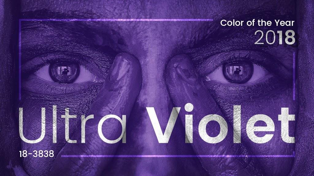 Pantone Ultraviolet, el color del año 2018.